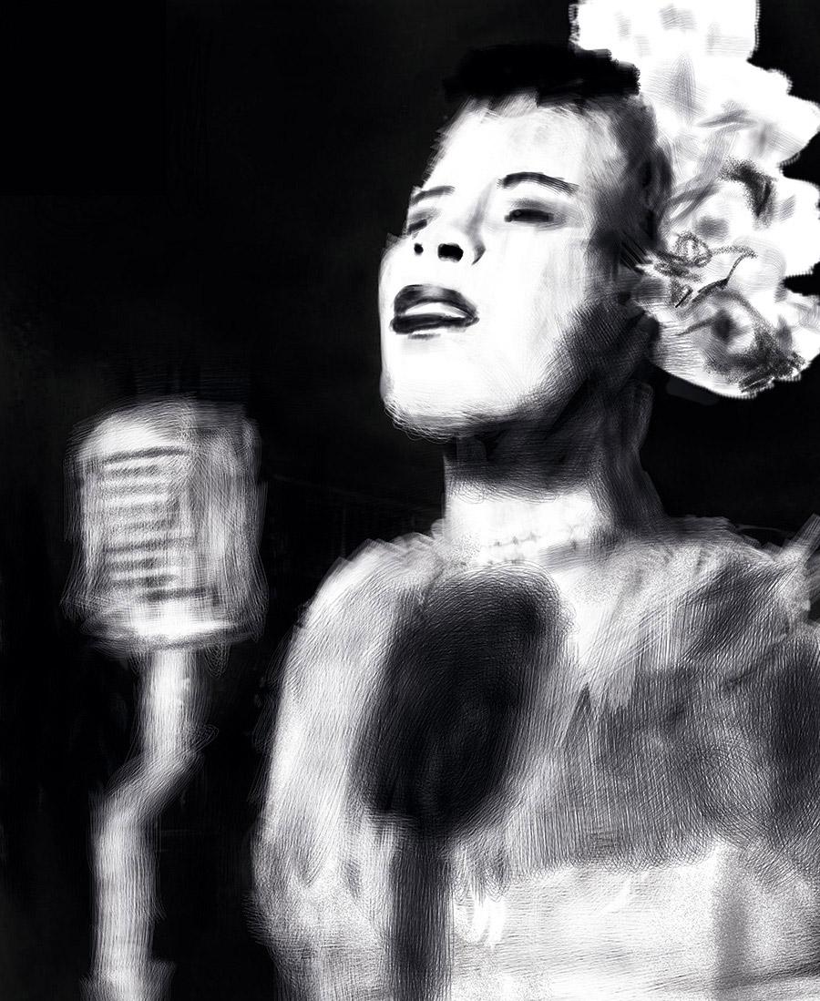 [Gustavo Aguiar] Billie Holiday
